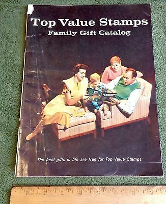 1959 TOP VALUE STAMPS Family Gift Catalog AWESOME MID CENTURY MODERN mcm 50's