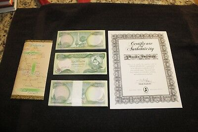 100,000 New Iraqi Dinar Crisp Uncirculated 10 X 10,000 Iqd Notes