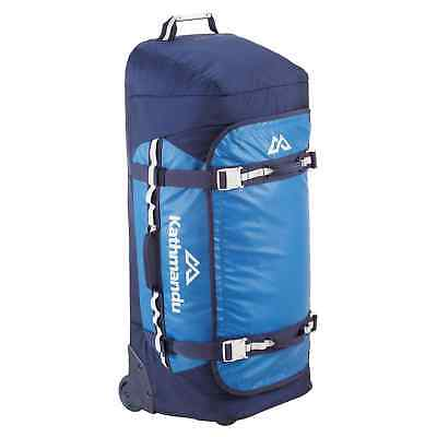 Kathmandu Super Tanker 80L Trolley Luggage Holdall Sports Gear Travel Bag v3