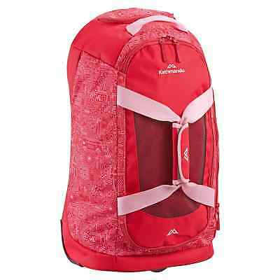 Kathmandu Tailspin Kids Girls Boy 30L Wheeled Luggage Duffle Bag Trolley v3