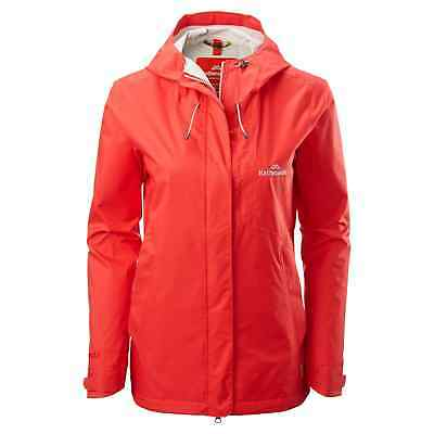Kathmandu Trailhead Womens Lightweight Hiking Waterproof Rain Jacket