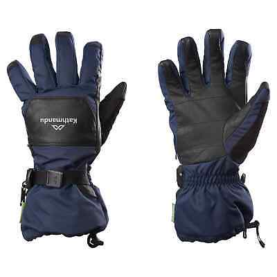 Kathmandu Men's Women's Waterproof Touch Screen Winter Ski Snow Sports Gloves