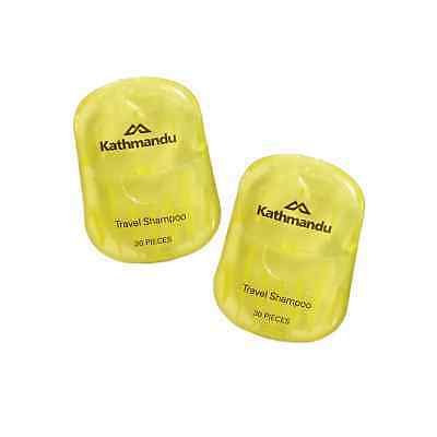 Kathmandu 2 Pack Travel Hiking Hassle Free Compact Hygiene Shampoo Paper