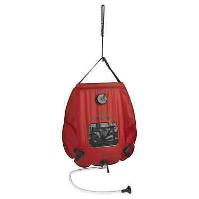 Kathmandu Deluxe Solar 20L Portable Heated Hanging Camping Travel Outdoor Shower