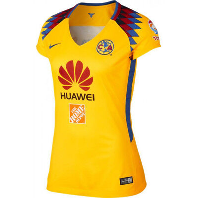a2a3603402f Nike Club America DF Season 2017 - 2018 Womens Soccer Third Jersey Yellow