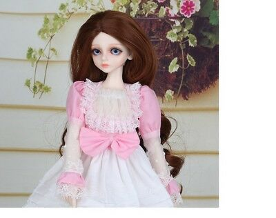D15 1/4 Girl Super Dollfie Normal Skin Coordinate Model Fullset BJD Doll O
