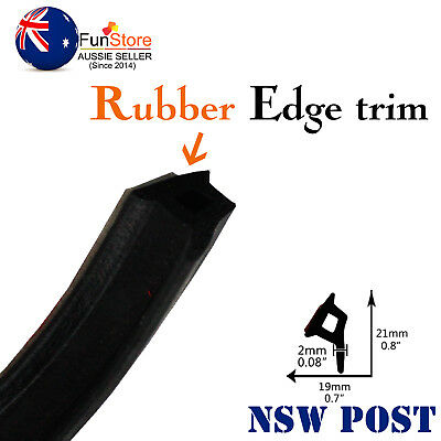 Rubber Seal P-Look Hollow Auto UTE Doors Sound water dust Control Seal Strip AU