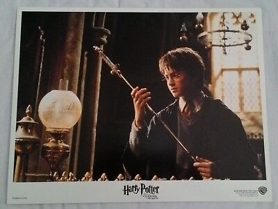 HARRY POTTER and the Chamber of Secrets 11 x 14 Lobby Card Set