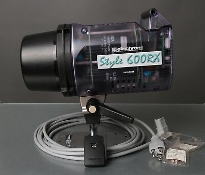 Elinchrom Style 600RX Monolight 600w/s RX with Skyport Receiver - Excellent Cond
