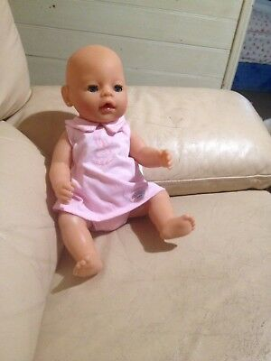 Baby Born Doll 2006 Zapf Creation With Potty and Pacifier