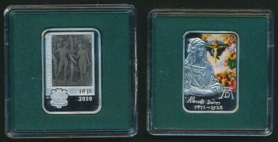 Andorra 2010 10 Diners 28.28g .925 Sil Proof Albrecht Durer in its Capsule Only