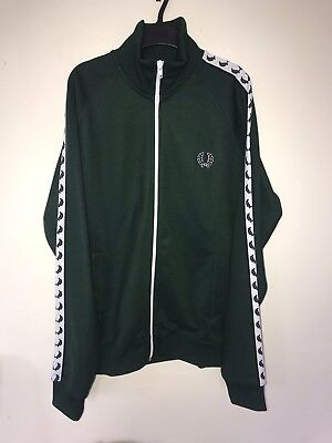Fred Perry Retro Funnel Neck Tracksuit / Track Top - Medium