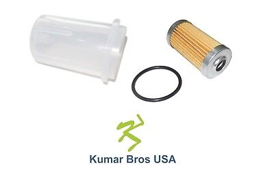 New John Deere Fuel Filter with O-ring & BOWL 415 425 445 455 650 670 750