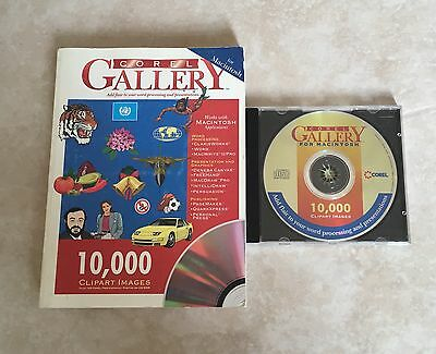 Corel Gallery for Macintosh - Book & CD with 10,000 Clipart Images