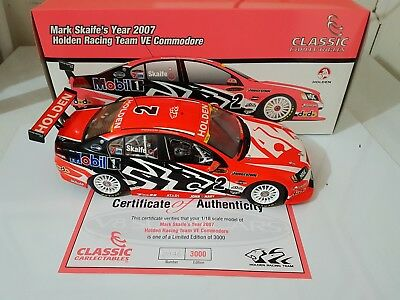 1:18 Classic Carlectable Mark Skaife 2007 HRT VE Commodore