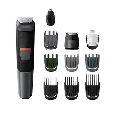 Philips Series 5000 11-in-1 Multi Grooming Kit for Beard, Hair & Body with Nose