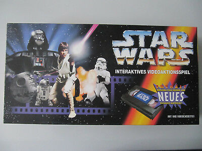 STAR WARS Brettspiel Interaktives Videoaktionsspiel Parker 1996 TOP Zustand