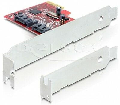 Delock PCI Express Karte > 2 x intern SATA 6 Gb/s