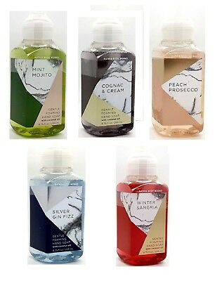 Bath & Body Works Gentle Foaming Hand Soap With Coconut Oil New