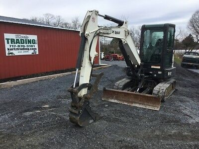 2013 Bobcat E42 Mini Excavator w/Cab and Hydraulic Thumb! Coming In Soon!