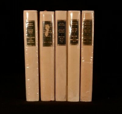 1951-7 5vols Yale Editions of the Private Papers of Boswell Limited Print Run