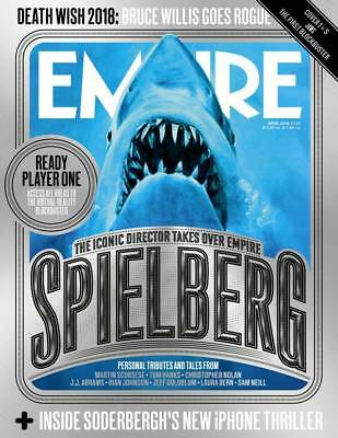 Empire Magazine April 2018 (Spielberg Special, Death Wish 2018, Jaws Cover) New