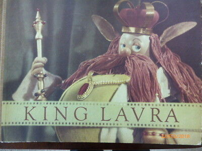 King Lavra, a fairytale based on the puppet film by Karel Zeman. Praag 1954