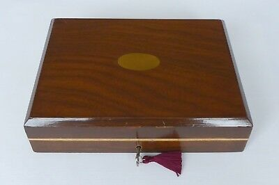 Walnut & Sycamore, Velvet Lined Accoutrement / Desk Box