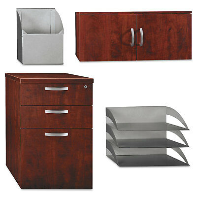 Bush Storage/Accessory Kit Office-in-an-Hour Hansen Cherry WC3649003