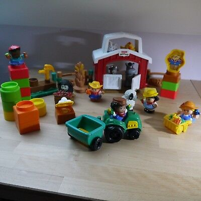Lot univers Little People (figurines) - Fisher Price - La ferme - Excellent état