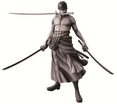 One Piece Zoro Special Color B&w Last One Ichiban Kuji Kenshi Hen Banpresto New