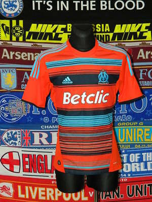 5/5 Olympique Marseille adults M 2011 MINT football shirt jersey trikot maillot
