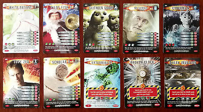 Doctor Who Battles In Time 10 x Trading Cards (200 - 209)