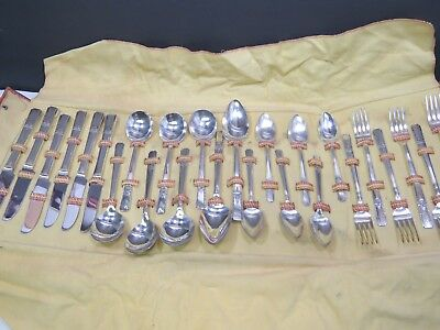 26 pcs Oneida Wm A Rogers Silverplate Flatware Lady Drake Lunch Set Svc for 6