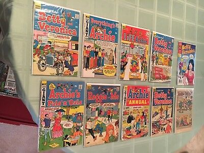 Archie Vintage Comic Book Lot of 10!