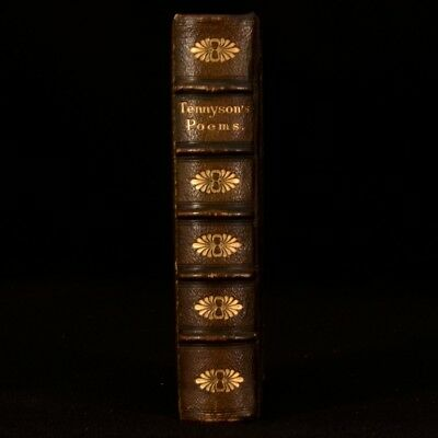 1857 Poems Alfred Tennyson First Illustrated Attractive Binding Lotos Eaters