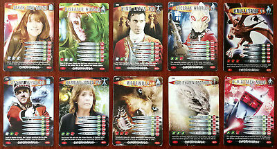 Doctor Who Battles In Time 10 x Trading Cards (090 - 099)