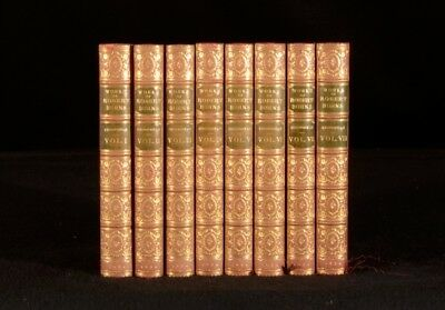 1834 8vols The Work of Robert Burns with his Life by Allan Cunningham