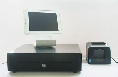 Square POS equipment bundle, Stand, Drawer, Chip Reader, Printer, IPAD,  (READ)