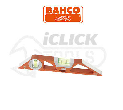 BAHCO 466-250 10in/25cm Scaffold Rare Earth Magnetic Torpedo Spirit Boat Level