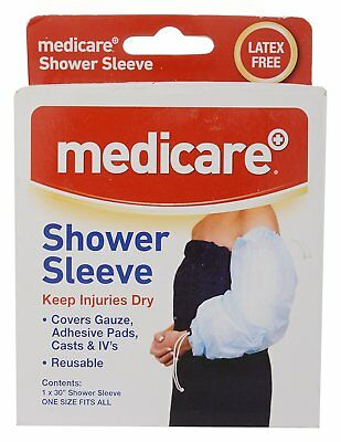 Medicare  Shower Sleeve Reusable One Size Fits All