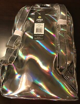 Zumba Funked Up Back Pack Silver