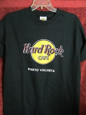 HARD ROCK CAFE, PUERTO VALLARTA (Size medium) T-shirt BLACK