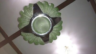 Art Deco Odeon Clam Shell Ceiling Light 1930s