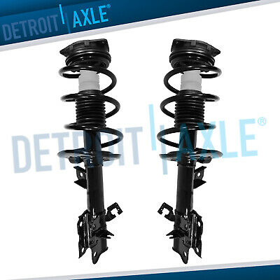 Pair of Front Strut & Coil Spring for Nissan Rogue 2008 2009 2010 2011 2012