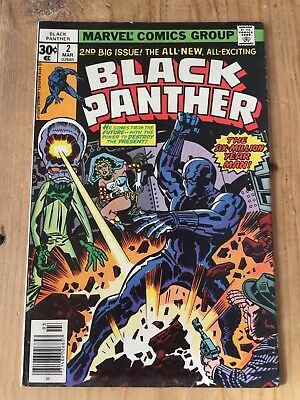 Black Panther Issue 2 1977