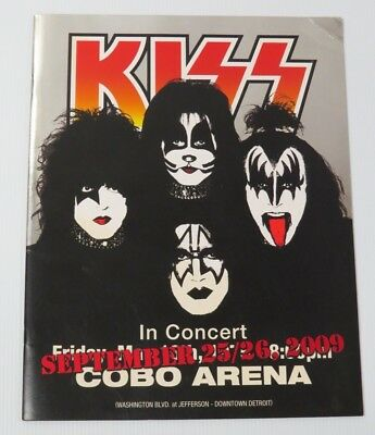 Kiss Cobo Hall 2009 Tourbook