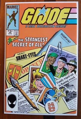 GI Joe 26 second print ~F/VF Marvel comic origin Snake Eyes 1984