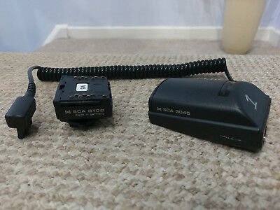 Metz SCA 3045 + SCA 3102 Canon Adapter for CL-4 Digital Flash