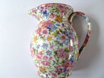 LORD NELSON WARE JUG WALL PLAQUE--CHINTZ pattern